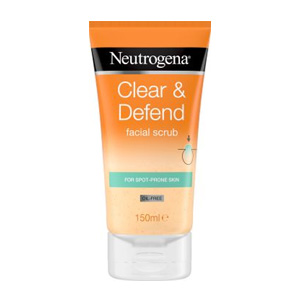 Neutrogena Clear & Defend Facial Scrub